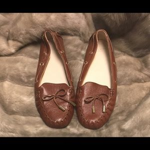 Cole Haan Grand OS Brown Leather Loafer Slip-On